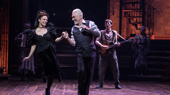 Amber Gray as Persephone and Patrick Page as Hades in Hadestown.