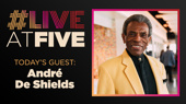 Broadway.com #LiveAtFive with André De Shields from Hadestown