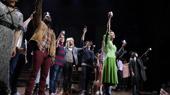 The Cast and Creatives of Hadestown Toast Eight Tony Wins