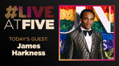 Broadway.com #LiveatFive with James Harkness of Ain't Too Proud