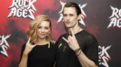 Don't Stop Believin'! See the Cast of Rock of Ages Celebrate Re-Opening Night at New World Stages
