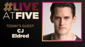 Broadway.com #LiveatFive with CJ Eldred of Rock of Ages