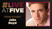 Broadway.com #LiveatFive with Jake Boyd of Wicked