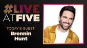 Broadway.com #LiveatFive with Brennin Hunt of Pretty Woman