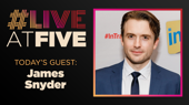 Broadway.com #LiveatFive with James Snyder of Harry Potter and the Cursed Child