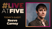 Broadway.com #LiveatFive with Reeve Carney of Hadestown