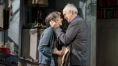 Eileen Atkins as Madeleine and Jonathan Pryce as André in The Height of the Storm.