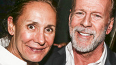 Pics of Bruce Willis & Laurie Metcalf's Opening Night in Misery