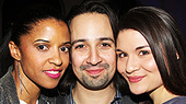 Photos! Witness a History-Making Opening Night with the Cast of Hamilton