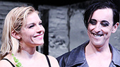Photos! The Cast of Cabaret Welcomes Sienna Miller to the Kit Kat Klub