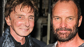 Barry Manilow Gets His Sea Legs with Sting & the Cast of The Last Ship