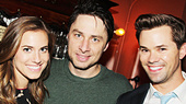 Girls Night Out! Andrew Rannells & Allison Williams Run Wild at Bullets