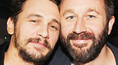 The Long Shrift Director James Franco Gets Love From Chris O'Dowd on Opening Night!