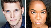Dave Thomas Brown & Kristolyn Lloyd Join Heathers
