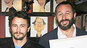Sardi's Surprises the Of Mice and Men Stars with Portraits