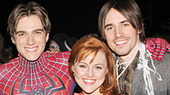 Spideys Past and Present Fly In for the Final Performance of Spider-Man, Turn Off the Dark