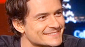 Orlando Bloom Chats with Stephen Colbert About Romeo and Juliet and Being a Glutton for Punishment