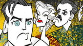 Squigs Takes a Swing at Seth Numrich, Tony Shalhoub and the Cast of Broadway's Golden Boy