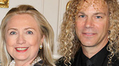 Memphis Composer David Bryan Makes a Special Presentation to Secretary of State Hillary Clinton