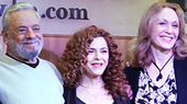 Exclusive Video! On the Scene with Stephen Sondheim, Bernadette Peters & More at Follies Album Signing