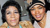 Queen of Soul Aretha Franklin Pays a Visit to The Mountaintop