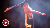 Join the High-Flying Acrobats of Traces for a Pre-Show Rehearsal