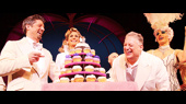 Harvey Fierstein and Christopher Sieber Celebrate a Frosting-Filled Anniversary at La Cage aux Folles