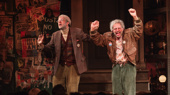 Oy vey! George St. Geegland and Gil Faizon (better known as John Mulaney and Nick Kroll) take their opening night curtain call.