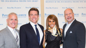 Paper Mill Playhouse's Producing Artistic Director Mark S. Hoebee, The Bodyguard stars Judson Mills and Deborah Cox and Paper Mill Playhouse Managing Director Todd Schmidt get together.
