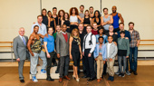 The full company of The Bodyguard takes a family photo. Run to Paper Mill Playhouse to see the production from November 25 through January 1, 2017, or catch it in a city near you beginning on January 10!