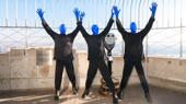 Painting the Town Blue! Off-Broadway's Blue Man Group Celebrates 25 Years