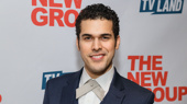Sweet Charity's Joel Perez suits up for his off-Broadway opening.