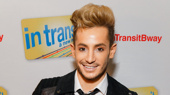 Former Broadway.com vlogger Frankie Grande attends the Broadway opening of In Transit.