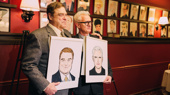 The Front Page's John Goodman & John Slattery Get the Sardi's Treatment