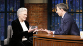 Odds & Ends: Glenn Close Gives Seth Meyers a Donald Trump-Themed Treat & More