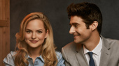 This Hot Shot of Stephanie Styles & Drew Gehling Has Got Us Beyond Excited for Roman Holiday