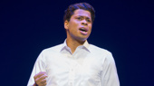 Chester Gregory as Berry Gordy in Motown The Musical