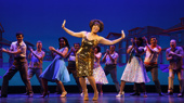 Judith Franklin as Martha Reeves & the cast of Motown The Musical