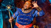 Major Attaway Returns to Broadway's Aladdin as the Genie