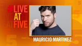 Broadway.com #LiveatFive with Mauricio Martinez of On Your Feet!