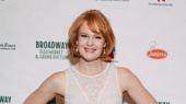 A super hot day at the Broadway Flea Market? No sweat for Hello, Dolly!'s fierce Kate Baldwin.