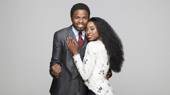 Kenneth Mosley as Berry Gordy & Trenyce as Diana Ross in Motown The Musical