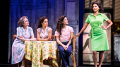 Alma Cuervo as Consuelo, Claudia Yanez as Rebecca, Christie Prades as Gloria Estefan and Nancy Ticotin as Gloria Fajardo in the national tour of On Your Feet.