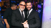 We're seeing double Emilios! Emilio Estefan and Mauricio Martínez snap a shot.