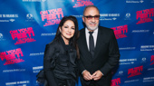 Gloria Estefan and Emilio Estefan are all smiles for On Your Feet! national tour opening.