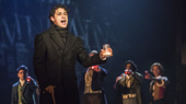 Joshua Grosso as Marius in Les Miserables