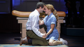 Bryan Fenkart & Desi Oakley in the national tour of Waitress, photo by Joan Marcus