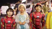 Odds & Ends: Watch Miss Saigon's Young Stars Trick-or-Treat at Hamilton & More