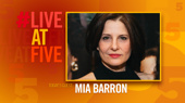 Broadway.com #LiveatFive with Mia Barron of The Wolves