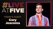 Broadway.com #LiveatFive with Cory Jeacoma of Jersey Boys